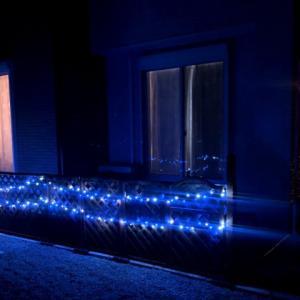 クリスマスイルミネーションでLEDライト200個買いましたが割とショボかった「アレクサ対応」