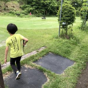 天然芝の本格的パターゴルフ場「みさかグリーンパーク」に行きました