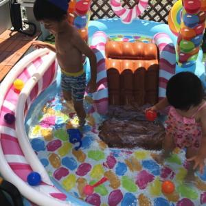 夏の庭の暑さ対策を考えた結果・・・「サンシェード」「ガーデンパラソル」「タープ」