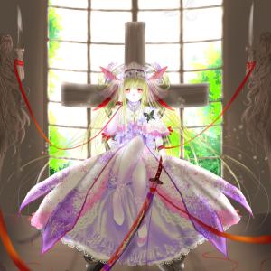 新作お絵描き「封印姫」