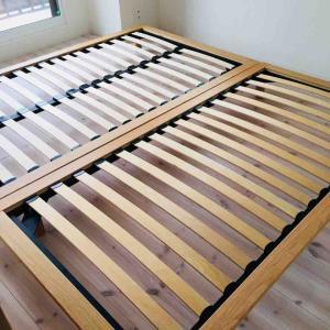 <無印良品>快適かつ素敵なベットを設置して寝室がより心地よくなりました