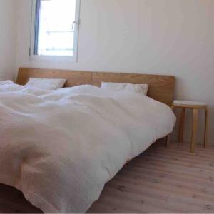 <無印良品>ベット購入後の寝室のビフォーアフター