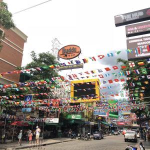 【タイ】ただいまバンコク!再会/別れの二日間🦔