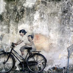 【マレーシア】何個見つけられるかな?ジョージタウンのストリートアート達!