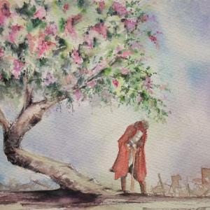 「百日紅の木の下で」