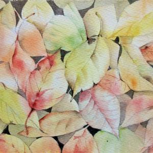 「重なる秋」