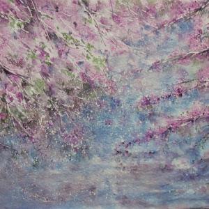 「水上桜」