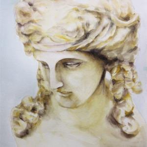 「石膏像」