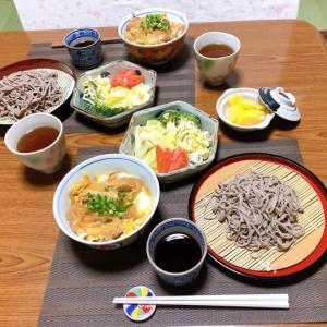 かつ丼&ざる蕎麦&春のスイーツ