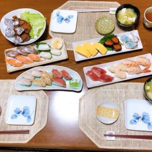 はま寿司でお持ち帰りの晩ご飯