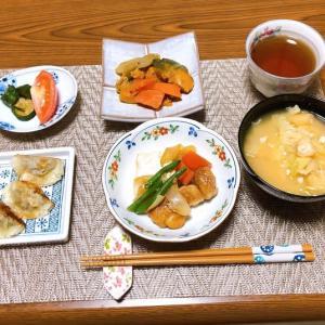 鶏モモ肉と豆腐の炒り煮