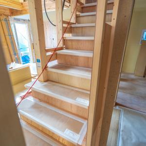 リビングイン階段と内装の様子