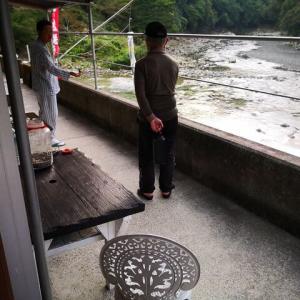 で、古座川の二日目は釣れたのか?