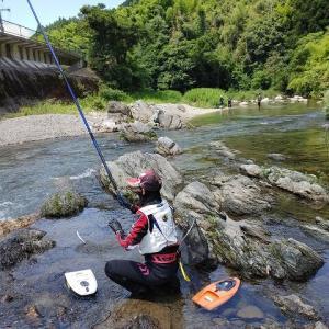 有田川ダム上と貴志川 どっちが鮎がようけ釣れる?