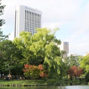 秋の中島公園 in 札幌