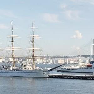 アフタヌーンティーとガーデン散歩と横浜三塔