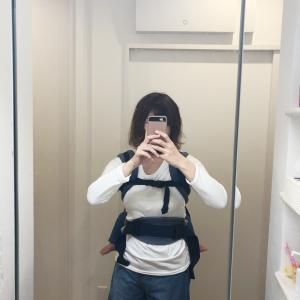 エルゴおんぶの胸元カバー!!!