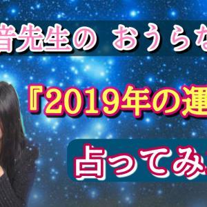 【2019年の運勢】占ってみた!の巻☆