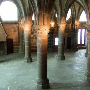 モンサンミッシェル2日目☆修道院の中へ入ります! 2006年11月20日(月)