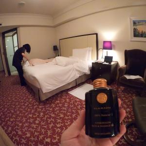 《帝国ホテル東京》宿泊客限定スパタイム❤︎お部屋で受けられるHARNNのアロママッサージが最高