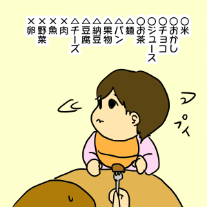ちぃ坊の神料理
