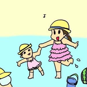 夏がやってきた!