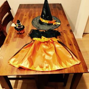 おチビのハロウィン衣装購入