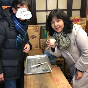 京都で初の角打ちデビュー✨そして美味しい鯖寿司✨