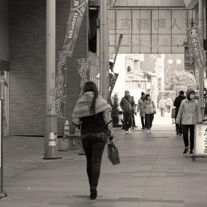 20.01.13:福岡城址のお濠と唐人町商店街4