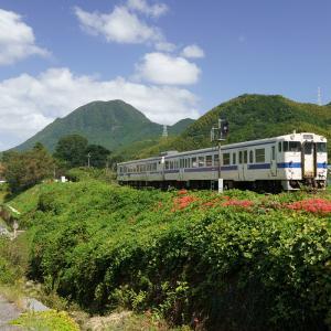 20.09.27:日田彦山線・採銅所駅再び2