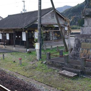 20.12.26:唐津、相知、お城にニャンコにゆる鉄駅舎12
