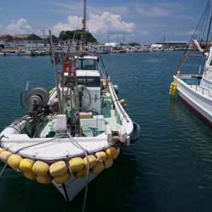 21.08.01:夏雲を撮りに漁港を訪ねて3