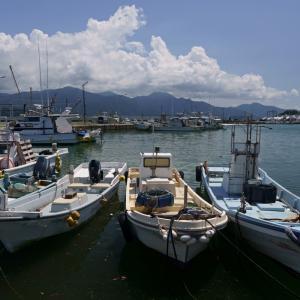 21.08.01:夏雲を撮りに漁港を訪ねて6