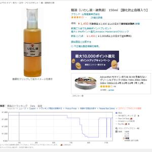 【道草】Amazonの価格履歴をKeepaで簡単にチェック・イワシ油の安値を探せ