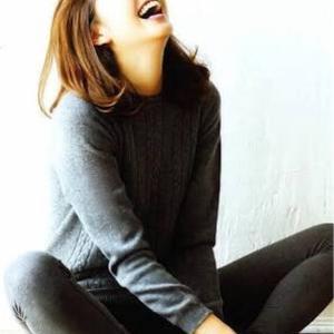 美人の大笑い