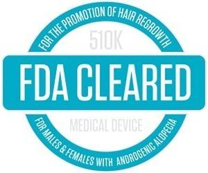 7件のFDA認可を取得しているヘアマックス