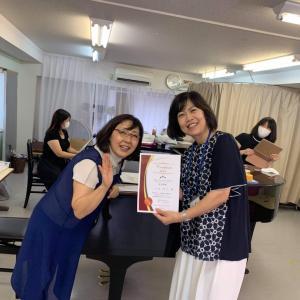 埼玉県春日部市、大好きな平山聖子先生が資格取得講座へ来て下さいました
