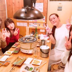 栃木のお泊まり女子旅とSRS壮行会よ♪