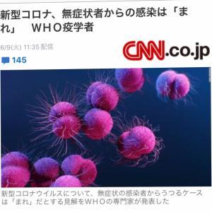 新型コロナウィルスの恐ろしい症状