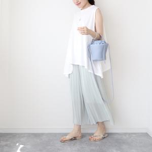 【ユニクロ】サラサラ涼しい!夏に超快適なスカートパンツ 【UNIQLO】