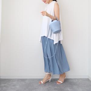 【ユニクロ】忙しくても綺麗見え!ワッシャーサテンスカートパンツ【UNIQLO】