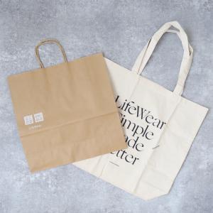 【ユニクロ】無料だった紙袋が有料化!9月から1枚10円に。