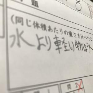 日能研 第8回育成テスト当日朝5時半からのテスト勉強