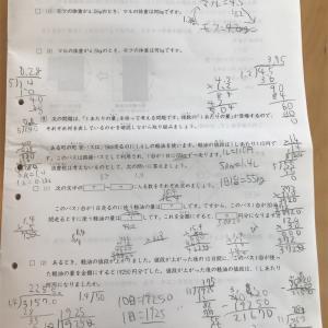 日能研 第11回育成テスト 結果!過去最高得点でクラスアップに期待♪