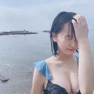 【まねきケチャ】中川美優(25)、初水着で美白ボディを披露する!