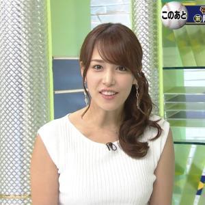 【女子アナ】鷲見玲奈アナ、「週プレ」写真集未収録の大胆神ボディを公開する!
