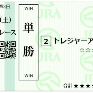 2020/6/13(土) 予想 中央 13戦3900円/地方 15戦 1500円