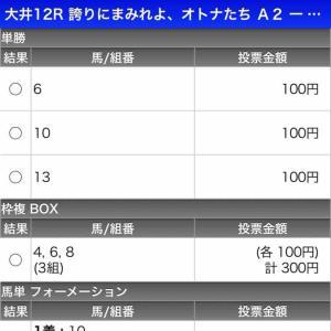 656日目:2021/4/12(月) 大井12R