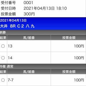 657日目:2021/4/13 大井