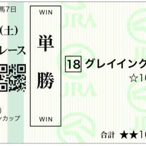 661日目:2021/4/17(土) 予想 中山/阪神/新潟:アーリントンC◎グレイイングリーン